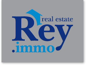 Logo Rey Immobilier - Agence immobilière - Real Estate Agency